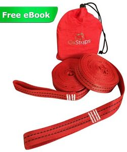 Hammock Straps XL - Easiest Way to Hang Any Hammock -Don't Risk Your Back