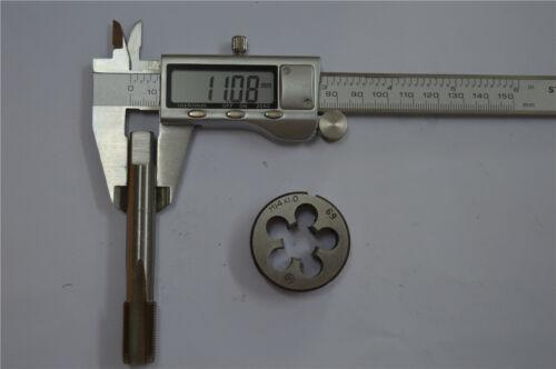 1pcs die M14 × 1.0  M14  right hand 1pcs tap M14 × 1.0