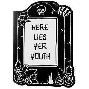 Killstar Gothic Goth Punk Geburtstagskarte Grußkarte   Tombstone