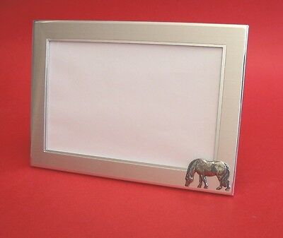 Horse Pony Motif 6 x 4 Photo Picture Frame Dad Mother Daughter Xmas Gift NEW
