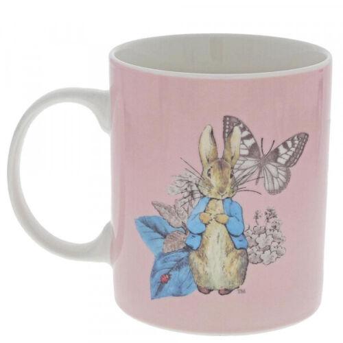 Beatrix Potter Peter Rabbit Rose Garden Party En Céramique Tasse De Café Tasse Coffret Cadeau