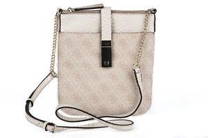 GUESS-Stone-Logo-Crossbody-Messenger-Bag-Small-Size-Ladies-Handbag-New-With-Tag