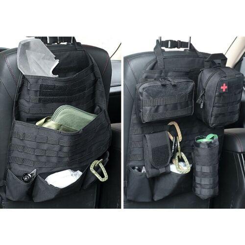 Taktische Molle-Panel-Fahrzeug-Autositz-Rücken-Organizer-Abdeckungs-Schutz