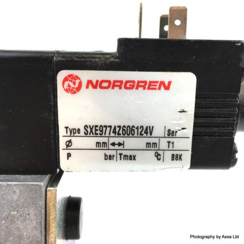 Solenoid Star Valve SXE9774-Z60-61-24V Norgren QM//54OO QM//5400 SXE9774Z606124V