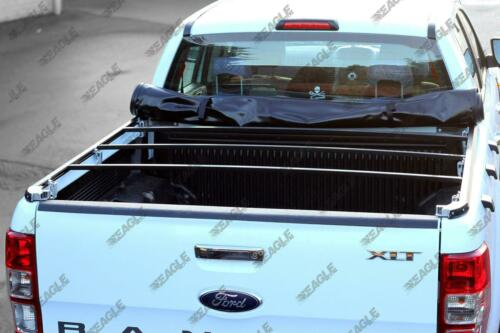 Ford Ranger Super Cab Soft Roll Up Tonneau Cover Load Bed Cover 2012+