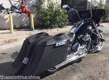 "Suzuki C50 / C90 Boulevard Custom Bagger 6"" Out & Down Saddlebags and Fender"