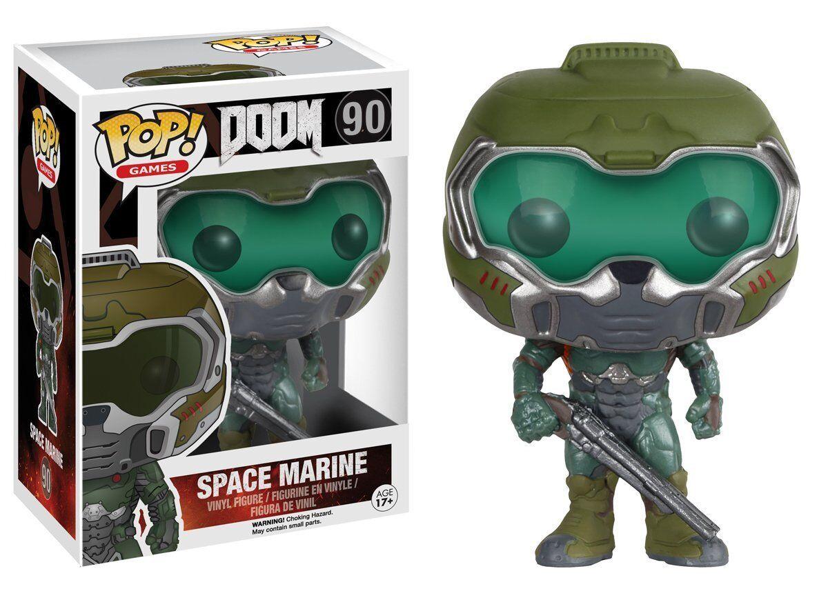 Funko POP  DOOM Space Marine 90 Sammler Figur Standard