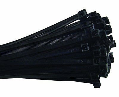 """Cable Ties 7/"""" UV Mil-Spec Rated 50lbs Tensile Strength 100 Pack CT-3909-7UV"""