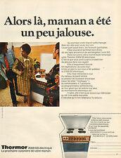Publicité 1972   Cuisinière THERMOR 2009 GS électrique