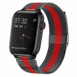 Apple Watch Series 5 4 3 2 1 Band 42 44mm Stainless Steel Mesh Metal Loop New Ebay