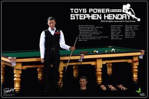 Jouets Power Ct008 Champion de snooker au 1 / 2e Stephen Hendry et ensemble de table