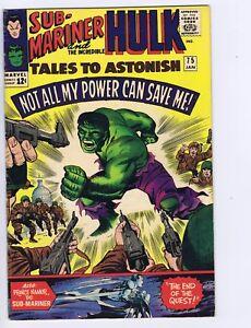 Tales to Astonish #75 Marvel 1966