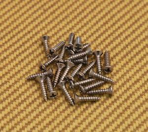 fender chrome pickguard screws x 24 099-4923-000