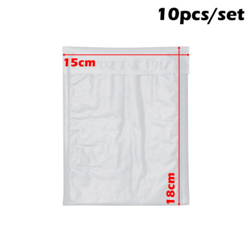 10X Bubble Padded Mailers Silver Envelope Golden Bags Packaging Mail Delivery