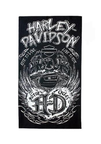 Harley Davidson® Grunge Heart Multi-Functional Head Wear Womens New Genuinue