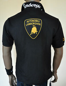 Image Is Loading NWT Automobili Lamborghini Smart Casual Polo T Shirt