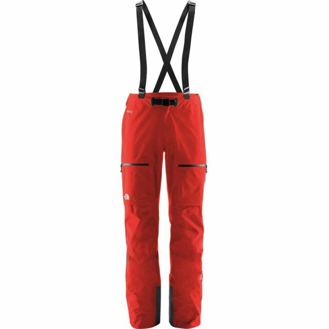 3517c55b2 The North Face Mens Summit Series L5 Gore-tex Pro Shell Pant Trouser Fiery  Red M