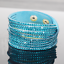 Wickelarmband-Strass-Damen-Armband-Slaker-Trendy-Glitzer-Geschenk-Bracelet-WOW Indexbild 25
