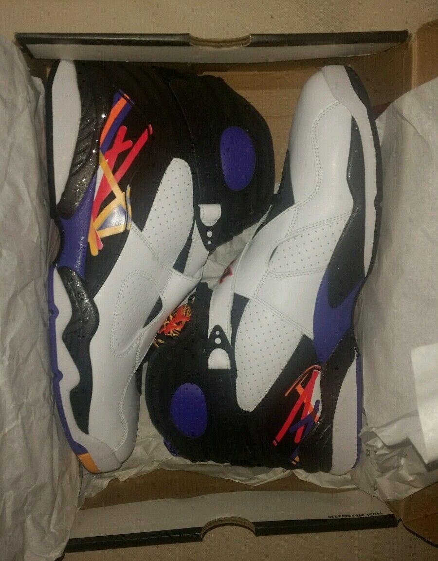Nike Air Jordan 8 Retro Basketball Shoe Lifestyle Athletic Running Sneaker 14