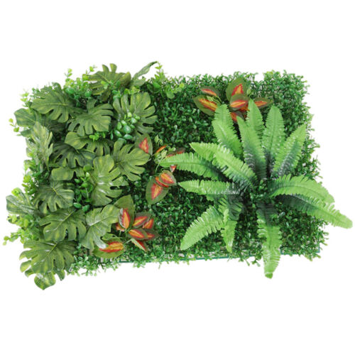 Artificial Lawn Plants Flowers Grass Wall Turf Panel for Wedding Venue Decor