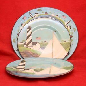 Image is loading Sakura-Evolution-COASTAL-BREEZE-Dinner-Plate-&-2- & Sakura Evolution COASTAL BREEZE Dinner Plate \u0026 2 Luncheon Plates ...