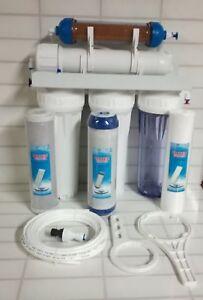 5-Stage-RO-amp-DI-resin-50-100-150GPD-reverse-osmosis-water-filter-system-aquarium