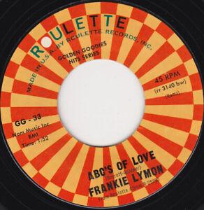 FRANKIE-LYMON-amp-THE-TEENAGERS-ABC-039-s-Of-Love-7-034-45