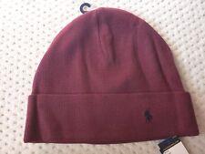 690c0f868d5 Polo Ralph Lauren Men s Cuff Beanie Knit Cap 100 Cotton OSFM C.red ...