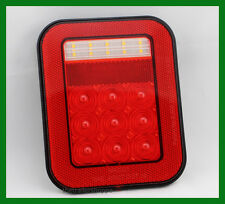 Maxxima M42221 3 Stud LED Stop Turn Tail Light Back up Jeep Truck Low Profile