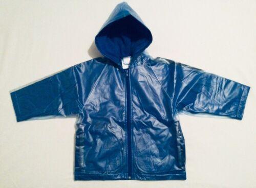 Age 2-3 Years New Children's Waterproof Fleece Blue Coat