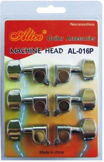 Alice AL-016JP 6 Gold Plated Closed Machine Head Guitar Tuners Gear Ratio 1:14
