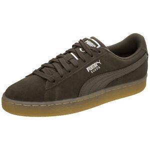 Puma Suede Classic Bubble Sneaker Damen braun / silber NEU