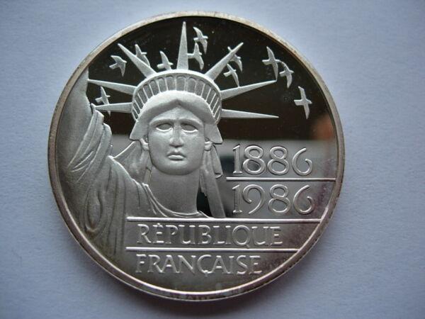 100 Francs Argent Liberte 1986 Fdc Be Belle Epreuve Fleur De Coin Rare La RéPutation D'Abord