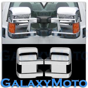 08-16-Ford-Super-Duty-F250-F350-F450-Turn-Light-Signal-Hole-Chrome-Mirror-Cover