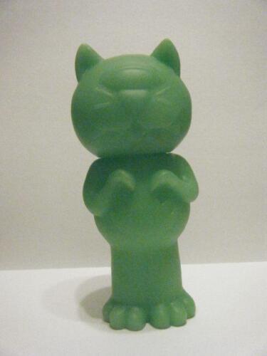 GREEN TENTAPUSS JAPANESE KITTY KAIJU DIY VINYL FIGURE KILL!