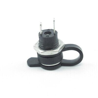 2x 5.5 x 2.5mm DC Power Jack Plug Socket Female Panel Mount Connector-Waterproof
