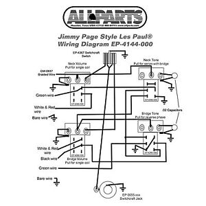 Wiring kit gibson jimmy page les paul complete with schematic image is loading wiring kit gibson jimmy page les paul complete cheapraybanclubmaster Image collections