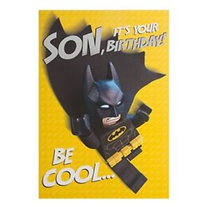 Image Is Loading Hallmark Pop Up Lego Batman Birthday Card For