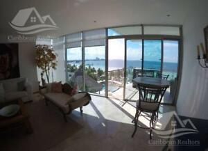 Departamento en Venta en Cancun Zona Hotelera Las Olas
