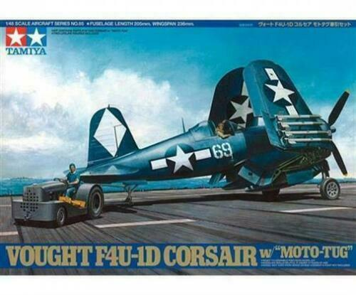 TAMIYA: US Vought F4U-1D Corsair m. Schlep. in 1:48