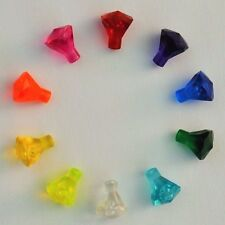 New Genuine LEGO Set of 10 Different Jewels Gems Crystals Friends Pirate