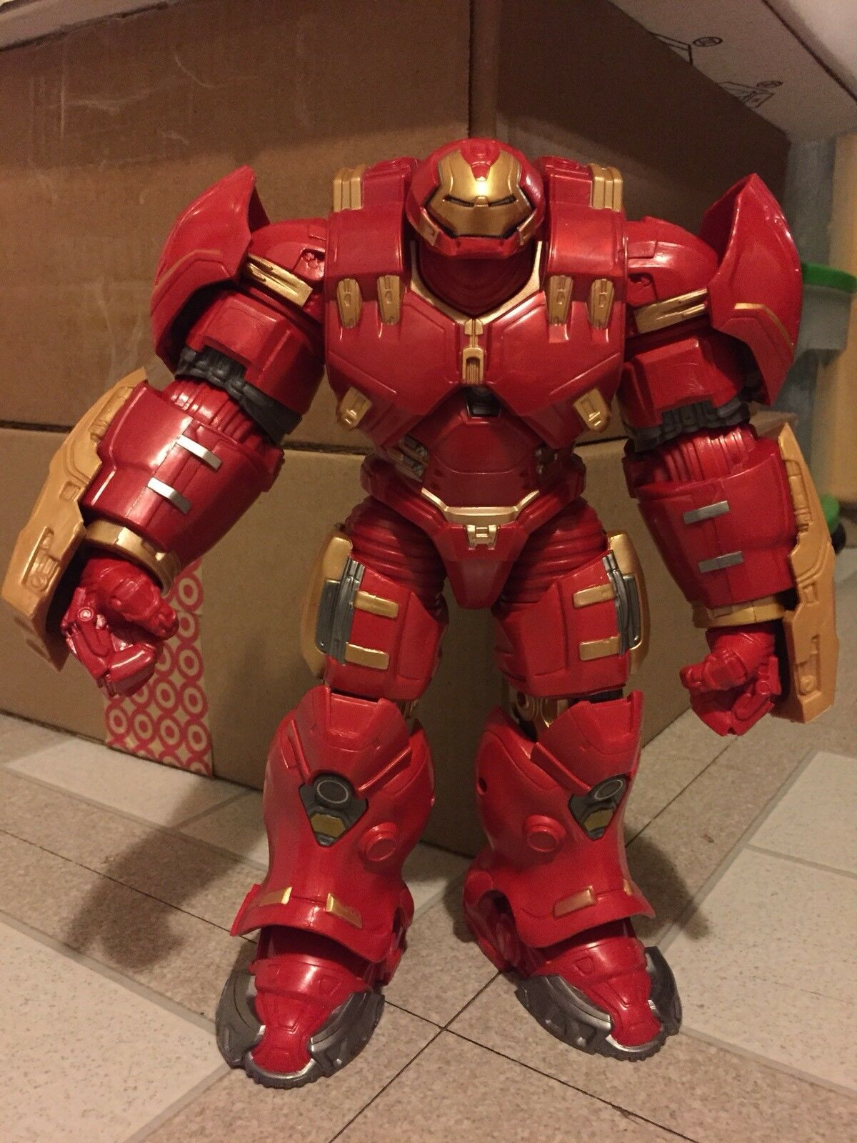 Marvel - legenden hulkbuster   aufbau einer abbildung   100% komplett   baf   iron man