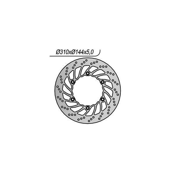MS-506DE15A85 DISCO FRENO ANT. NG 1163 01/06 BONNEVILLE (908MD) 790 TRIUMPH  OS