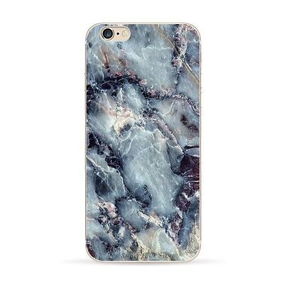 "Granite Marble Texture Print Clear Soft TPU Case For iPhone 6 4.7"" & 6 Plus 5.5"""