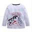 New-Kids-Boys-Long-Sleeve-T-Shirt-Fashion-Cartoon-Dinosaur-Top-Tee-Clothing thumbnail 23