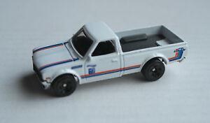 Hot Wheels Datsun 620 Pickup Truck Weiß Auto Car White Bianco Blanco