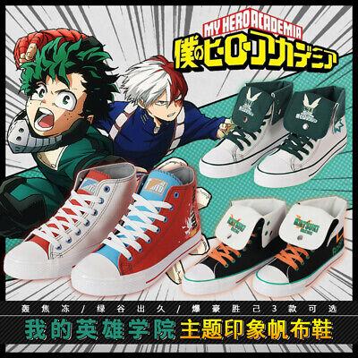 NEW My Hero Academia Baku no Hero Midoriya Izuku Cosplay Shoes Customized FF.002