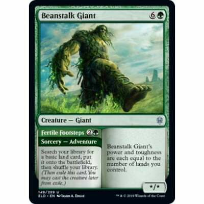 Beanstalk Giant NM Card x 4 Playset MTG Throne of Eldraine