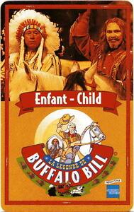 Pass Disney Passeport Carte / Buffalo Bill Enfant Verso Vierge Dycpjcha-08011708-260037444