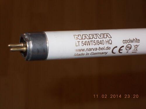 Narva LT 54wt5//840 HQ Coolwhite www.narva-bel.de CE MADE IN GERMANY 54 W 840 t5